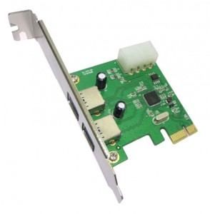 PCI-E PCI Express USB3.0 Card ASMEDIA 1042 chipset